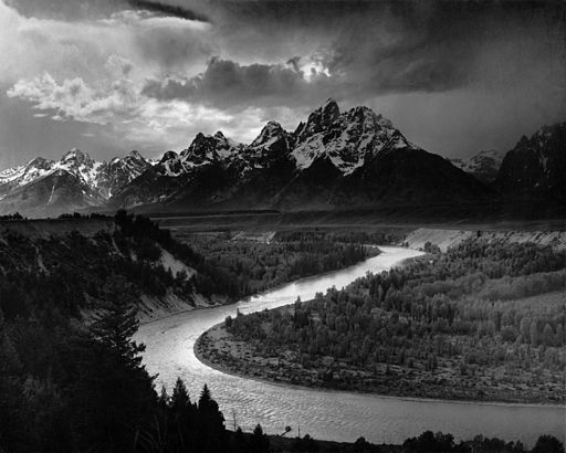 Ansel Adams [Public domain], via Wikimedia Commons