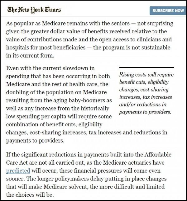 Dr. Wilensky op- ed in NYT