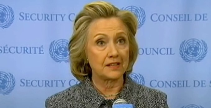 Hillary Clinton by Voice of America