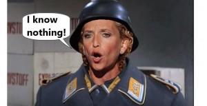 Sgt. Schultz of DNC