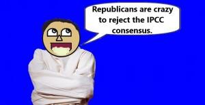 IPCC consensus craziness