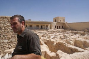 Father Jacques Mourad, who recently escaped from the Islamic State. Credit: Terre Sainte Mag.