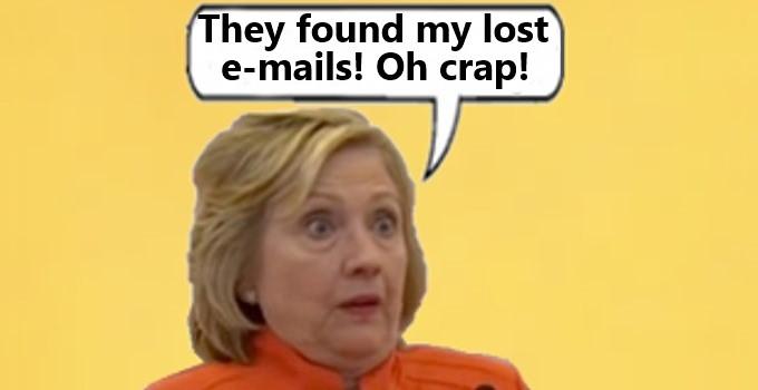 Shocked Hillary