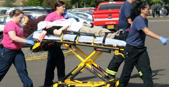 APTOPIX Oregon School Shooting