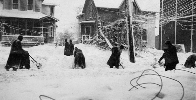 Cleveland Blizzard of 1913
