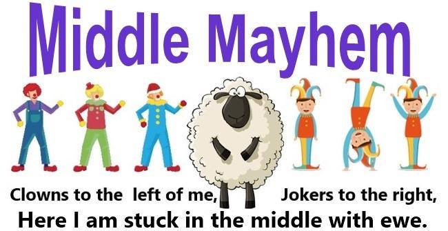 Middle Mayhem Logo