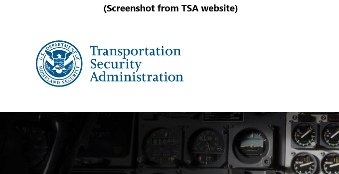 TSA Screenshot