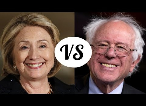 Clinton-vs-Sanders