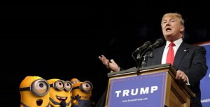 Minions and Trump