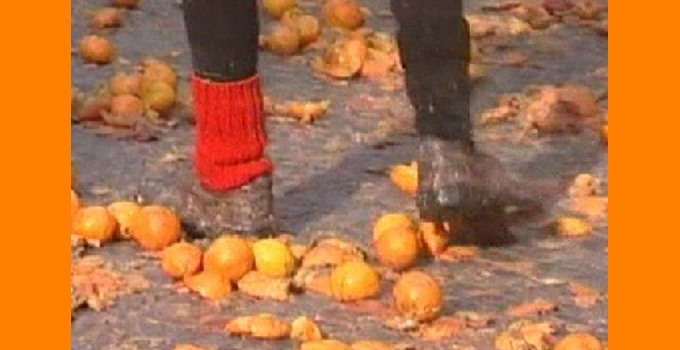 Smashed Oranges