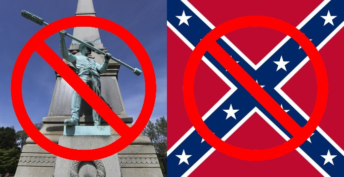 Louisville monument removed
