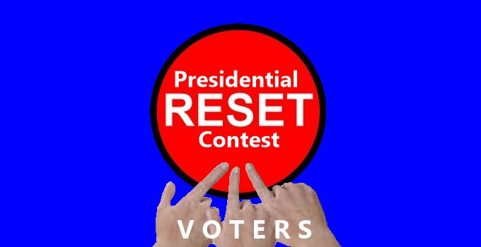Reset of Presidential Contest