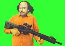 Shakespeare with an AR-15