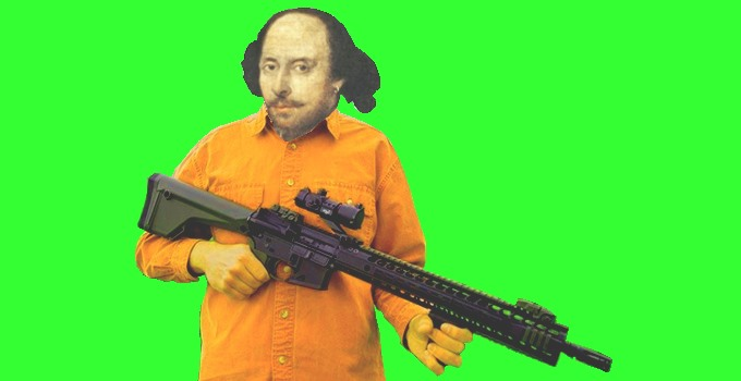Shakespeare with an AR-15