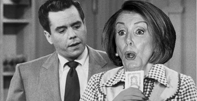 """Nancy, you've got some 'splaining to do!"""